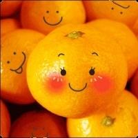 аватарка в контакте смайлик апельсин