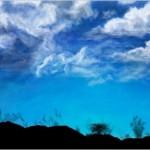 рисунок небо