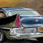 рисунок авто классика