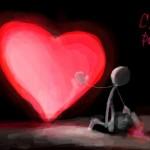 рисунок я дарю тебе сердце
