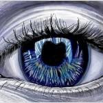 граффити в контакте красивый глаз