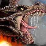 граффити в контакте дракон