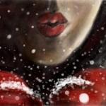 граффити в контакте поцелуй