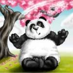 граффити в контакте веселый панда