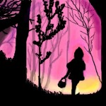 граффити в контакте девочка в лесу
