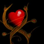 рисунок в контакте яркая любовь
