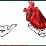 граффити рисунки в контакте я дарю тебе свое сердце