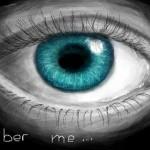 рисунок бирюзовый глаз