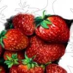 рисунок клубника