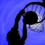 граффити на стену баскетбольное кольцо