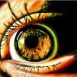 граффити в контакте глаз