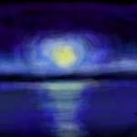 рисунок ночь