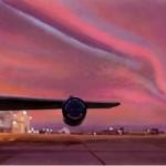 рисунок самолет