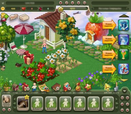 игра райский сад королевство цветов
