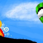 рисунок воздушный шар