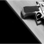 рисунок в контакте пистолет
