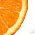 рисунок в контакте сочный апельсин