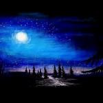 рисунок в контакте красивая ночь