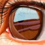 рисунки на стену в контакте потрясающий глаз