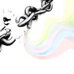 граффити рисунок разорванная цепь