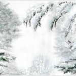 граффити в контакте снег