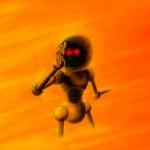 граффити в контакте робот