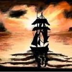 граффити в контакте корабль