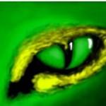 граффити вконтакте зеленый глаз