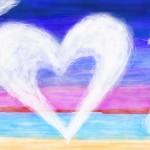 граффити в контакте воздушное сердце