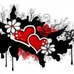 граффити в контакте яркая любовь