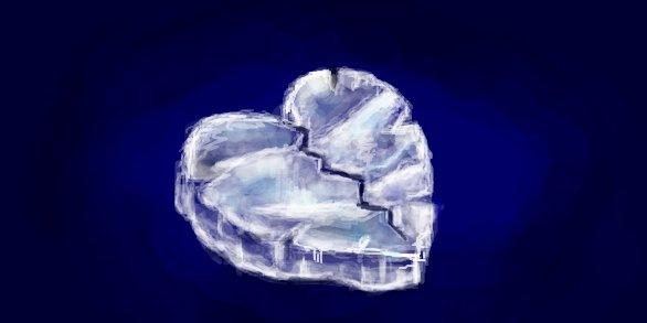 Рисунок в контакте разбитое сердце