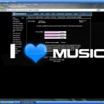 тема для контакта i love music