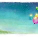 рисунок на стену праздничные шарики